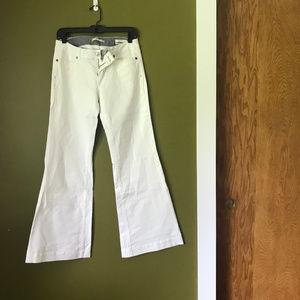 Gap White Super Wide Leg Jean